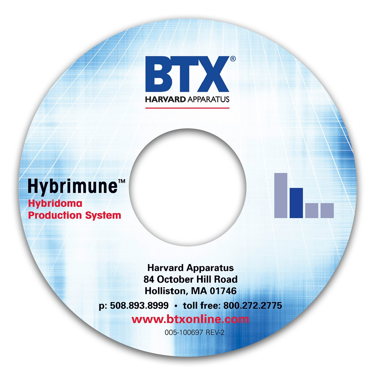 Hybrimune User Interface Application Software