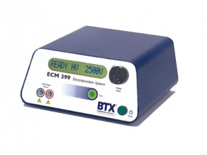 ECM 399 Exponential Decay Wave Electroporation System