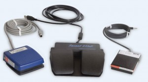Legacy ECM 830, AgilePulse and Gemini X2 Foot Pedals